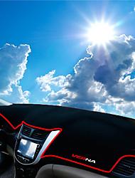 abordables -Automobile Matrice de tableau de bord Tapis Intérieur de Voiture Pour Hyundai Toutes les Années Verna