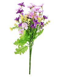 cheap -Artificial Flowers 1 Pastoral Style Daisies Tabletop Flower / Not Included