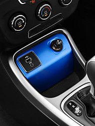 cheap -Automotive Ignition Switch Cover DIY Car Interiors For Jeep 2017 Compass