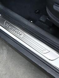 abordables -Automobile Plaques d'éraflures intérieures Gadgets d'Intérieur de Voiture Pour Hyundai 2017 2016 2015 New Tucson