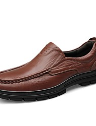 cheap -Men's Shoes Cowhide Nappa Leather Leather Spring Fall Driving Shoes Formal Shoes Comfort Loafers & Slip-Ons for Casual Office & Career