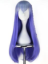 economico -Parrucche lolita Lolita Blu Principessa Parrucche Lolita 76 CM Parrucche Cosplay Halloween Parrucche Per