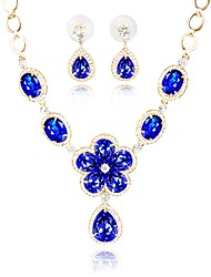 cheap -Women's Jewelry Set - Classic, Fashion Include Bridal Jewelry Sets Blue For Wedding / Daily