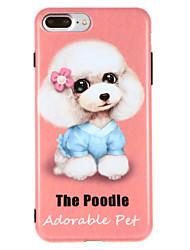 Θήκη Za Apple iPhone X iPhone 8 IMD Uzorak Stražnja maska Pas Mekano TPU za iPhone X iPhone 8 Plus iPhone 8 iPhone 7 Plus iPhone 7 iPhone