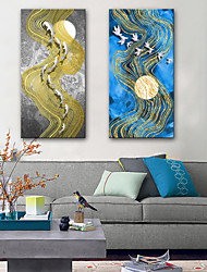cheap -Canvas Print Modern, Two Panels Canvas Vertical Print Wall Decor Home Decoration