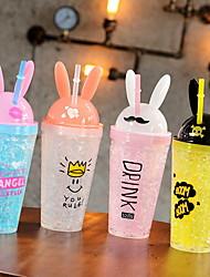 Недорогие -Drinkware Пластик Бокал Компактность 2 pcs