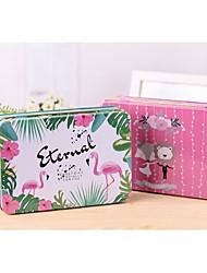 Недорогие -Square Shape Никелированный металл Фавор держатель с Коробочки Подарочные коробки Коробка для хранения - 1box