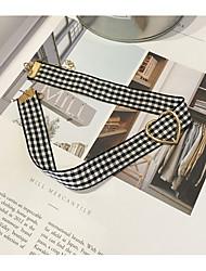 Недорогие -Жен. Круглый форма металлический Ожерелья-бархатки , Ткань Ожерелья-бархатки Подарок