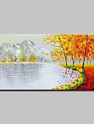 baratos -mintura® pintados à mão pintura a óleo abstrata moderna da paisagem em retratos da arte da parede da lona para a decoração home pronta para pendurar