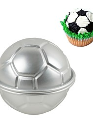 cheap -Cake Molds Sphere Football For Candy Cake Chocolate For Cupcake For Cake Aluminium Alloy 7005 Stainless Steel 430 DIY Valentine's Day
