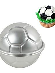 Недорогие -Инструменты для выпечки Алюминиевый сплав 7005 / Нержавеющая сталь 430 Инструмент выпечки / 3D / День рождения Торты / Cupcake / Для шоколада Сфера Формы для пирожных