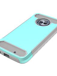 abordables -Funda Para Motorola E4 Plus / E4 Antigolpes Funda Trasera Un Color Dura ordenador personal para Moto X4 / Moto E4 Plus / Moto E4