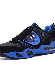 abordables -Femme-Sport-Bleu Noir et rouge Noir et blanc-Talon Plat-Mary Jane-Chaussures d'Athlétisme-Synthétique