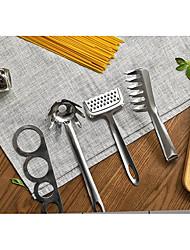 abordables -Acier inoxydable Portable Batterie de Cuisine, 4pcs