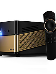 cheap -JmGO V8 DLP Home Theater Projector LED Projector 1100 lm Android 5.0 Support 4K 20-300 inch Screen / 1080P (1920x1080) / ±30°