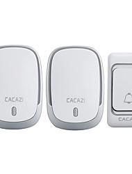 Недорогие -Дзынь-дзынь Музыка От одного до двух дверных звонков Регулируемый звук Беспроводное дверной звонок 200 Крепеж на поверхности