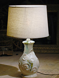 cheap -Modern/Contemporary Decorative Table Lamp For Bedroom Ceramic 220V White
