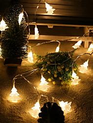 economico -2 m Fili luminosi 20 LED 2M String Light Bianco caldo 1set