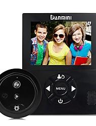 Недорогие -denimini yb-30chd-3.0-inch камера ночного видения видео электронный кошачий глаз. не мешайте дверному звонку. функция видео-видео