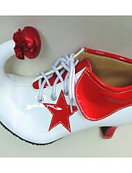 Недорогие -Универсальные Обувь Дерматин Весна Осень Удобная обувь Обувь на каблуках Высокий каблук для Для вечеринки / ужина Белый