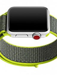 baratos -Pulseiras de Relógio para Apple Watch Series 3 / 2 / 1 Apple Pulseira Esportiva Náilon Tira de Pulso
