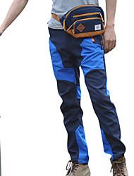 abordables -Hombre Pantalones para senderismo Al aire libre Impermeable, Mantiene abrigado, Secado rápido Primavera / Otoño / Invierno Poliéster,