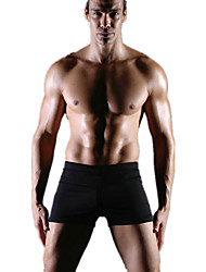 abordables -Homme Mode Bas Maillots de Bain Sexy, Polyester Spandex Noir