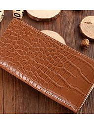preiswerte -Damen / Unisex Taschen Leder Unterarmtasche Knöpfe für Draussen Braun