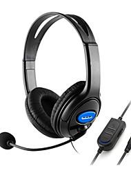 abordables -Auriculares con cable para estéreo bajo estéreo para ps4 y xbox one y teléfono y PC