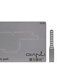 Недорогие -позиционирующая форма стальная пластина логическая плата bga реболлинг шаблон шаблона для iphone x ремонт материнских плат