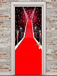 Недорогие -Натюрморт 3D Наклейки Простые наклейки 3D наклейки Декоративные наклейки на стены Фото наклейки Дверные наклейки Напольные наклейки, Винил