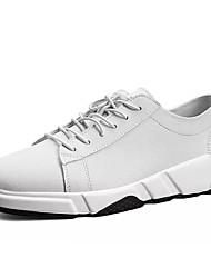 Muškarci Cipele Nubuk koža Proljeće Jesen Udobne cipele Atletičarke tenisice Hodanje za Atletski Obala Crn