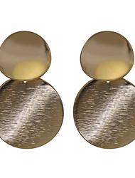 economico -Per donna Stile Boho Orecchini a bottone / Orecchini a cerchio - Stile Boho / Di tendenza Oro Circolare Orecchini Per Matrimonio /