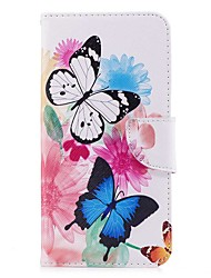 cheap -Case For LG V30 Q6 Card Holder Wallet with Stand Flip Magnetic Full Body Cases Butterfly Hard PU Leather for LG V30 LG V20 LG Q6 LG K10