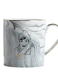 cheap -Drinkware Porcelain Mug Girlfriend Gift Boyfriend Gift 2pcs