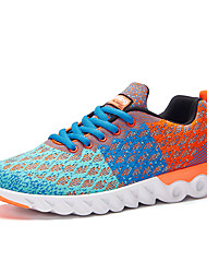 cheap -Men's Tulle Spring / Fall Comfort Athletic Shoes Walking Shoes Gray / Light Blue / Royal Blue