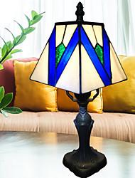 Недорогие -металлический Декоративная Настольная лампа Назначение Спальня Металл 220 Вольт Синий Белый