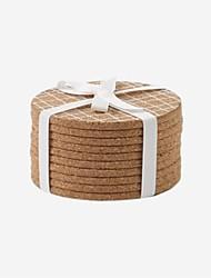 cheap -Wooden Portable Pot Holder & Oven Mitt, 10pcs