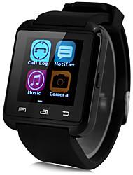 baratos -Bluetooth3.0 relógio inteligente pedômetro sono monitorar mensagem de chamada de sincronização para android telefone