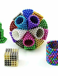 cheap Toys & Hobbies-648/864/1000 pcs 5mm Magnet Toy Magnetic Balls Building Blocks Neodymium Magnet Stress and Anxiety Relief Office Desk Toys DIY Adults' / Children's Boys' Girls' Toy Gift