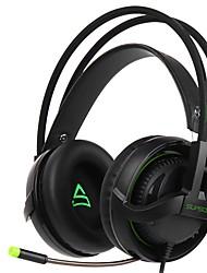 baratos -Supsoo G810 Bandana Com Fio Fones Dinâmico Plástico Games Fone de ouvido Com Microfone Fone de ouvido