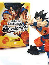 economico -Figure Anime Azione Ispirato da Dragon Ball PVC 19 cm CM Giocattoli di modello Bambola giocattolo