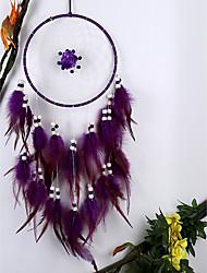 cheap -Wall Decor Feather/Fur European Pastoral Wall Art, Dreamcatcher of 1