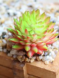 Недорогие -3 Филиал Полиэстер Суккулентные растения Букеты на стол Искусственные Цветы