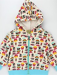 cheap -Unisex Daily Animal Print Color Block Hoodie & Sweatshirt, Faux Fur Cotton Spring Fall Long Sleeves Casual Active Rainbow