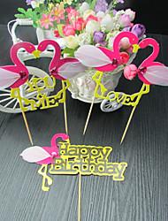 abordables -Décorations de Gâteaux Animaux Anniversaire Amis Famille Mariage Animaux Papier Mariage Anniversaire avec Motif Animal 1 Boîte à cadeau