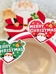 baratos -Férias Etiquetas, Etiquetas e tags - 16 Natal Irregular Autocolantes Todas as Estações