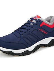 cheap -Men's Fabric Winter Comfort Athletic Shoes Black / Gray / Blue