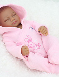 Недорогие -NPK DOLL Куклы реборн Девочки 12 дюймовый Полный силикон для тела Силикон Винил - Новорожденный как живой Милый стиль Ручная работа Безопасно для детей Non Toxic Детские Универсальные / Девочки