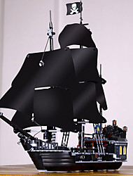 cheap -Black Pearl Building Blocks 804 pcs Pirates / Pirate Ship Exquisite Vintage Style Gift